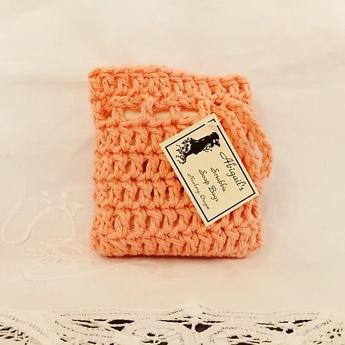 Coral Rose Soap Bag