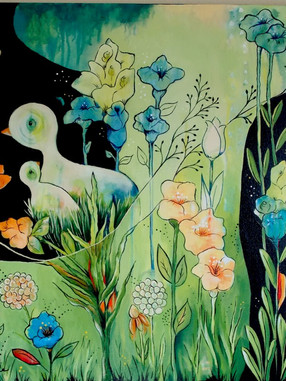 24x24 Original Painting #106