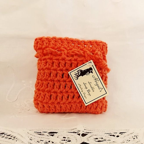 Tangerine Soap Bag