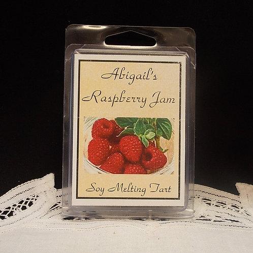 Raspberry Jam Soy Melting Tart