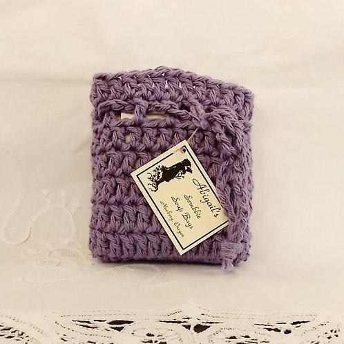 Lavender Soap Bag