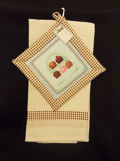 Chocolate Truffles Towel Set