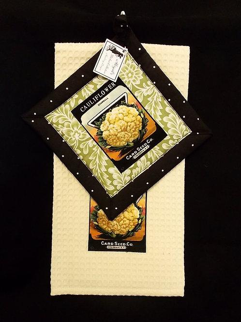 Cauliflower Towel Set