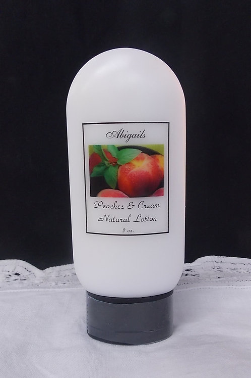 Peaches & Cream 2 oz. Lotion