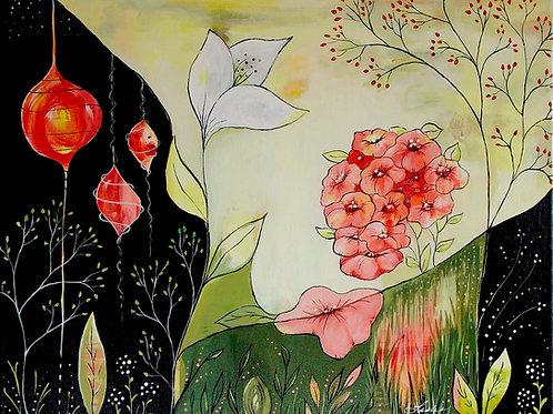 16x20 Acrylic Painting #116