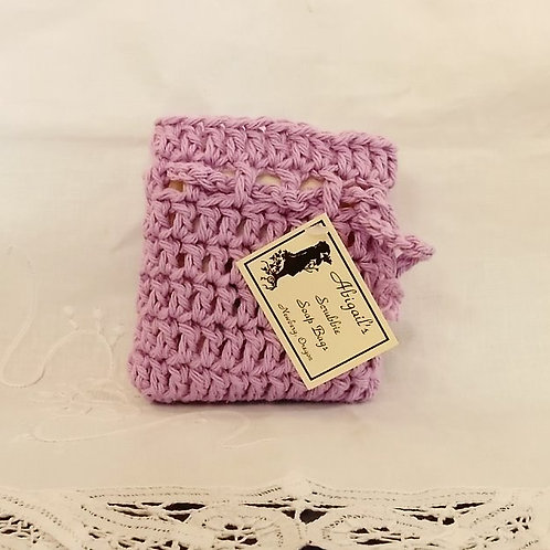 Orchid Soap Bag