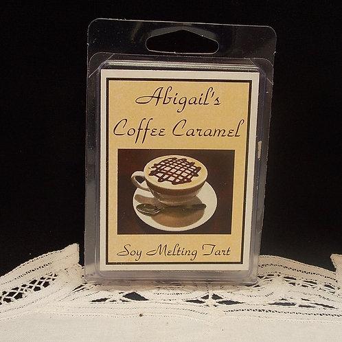 Coffee Caramel Cream Soy Melting Tart