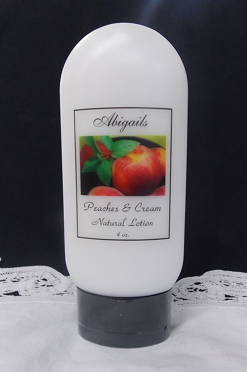 Peaches & Cream 4 oz. Lotion