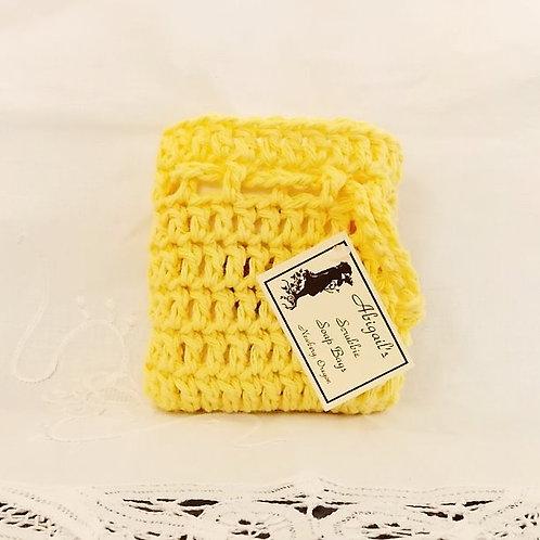 Yellow Soap Bag