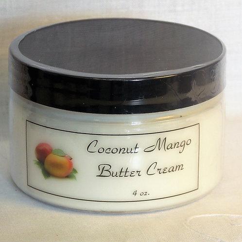 Coconut Mango Butter Cream