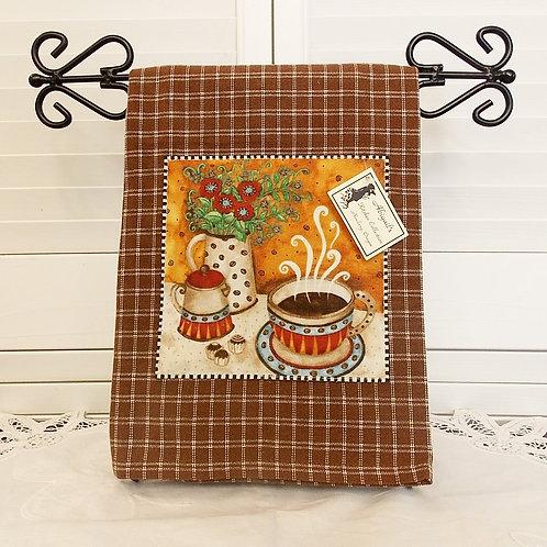 Brown Coffee House Towel
