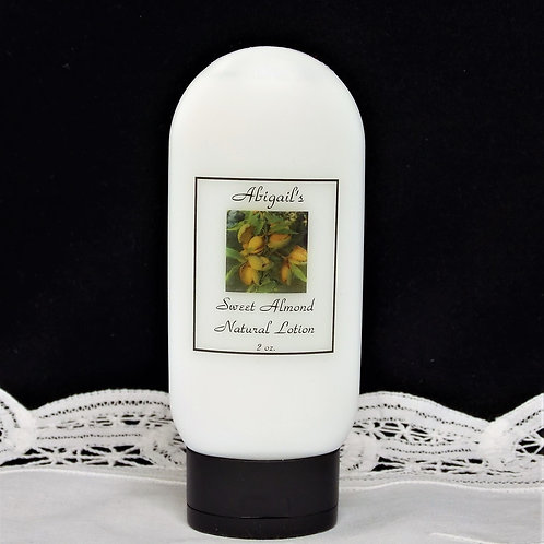 Sweet Almond 2 oz. Lotion