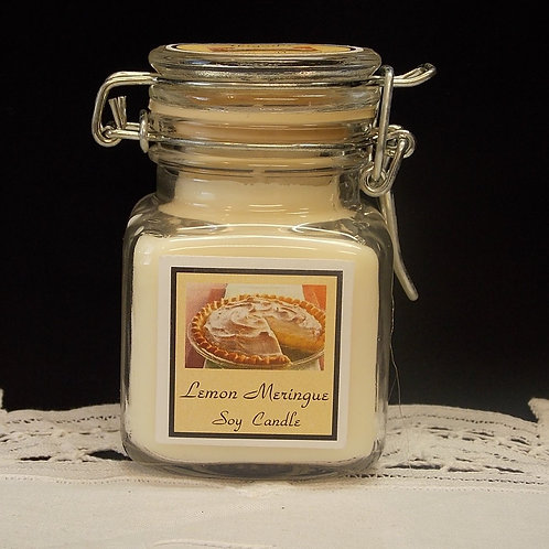 Lemon Meringue Pie Small Apothecary Soy Candle