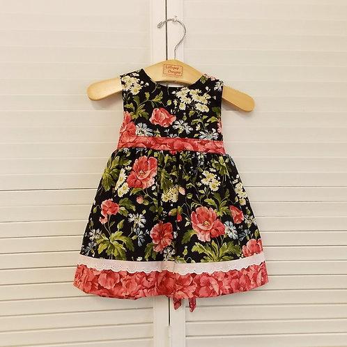 Roses Tie Dress