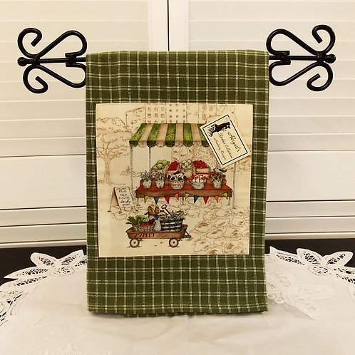 Green Farmers Market Towel