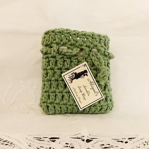 Sage Green Soap Bag