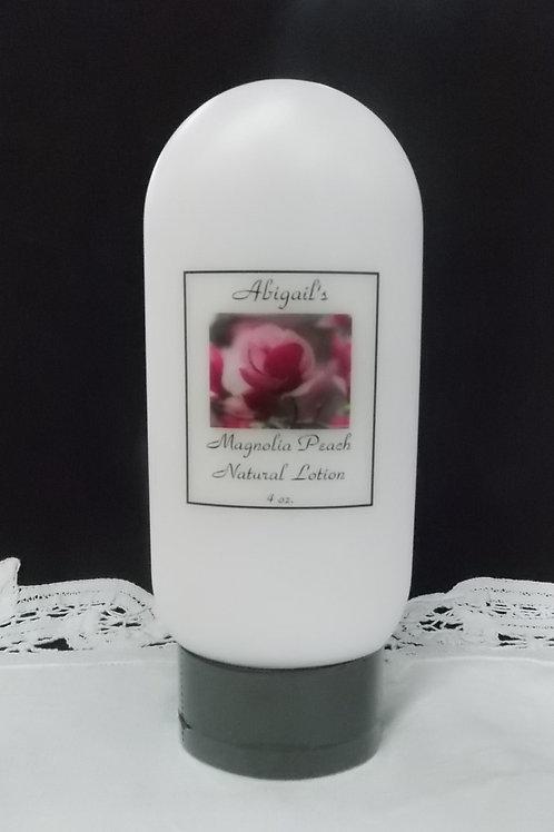 Magnolia Peach 4 oz. lotion