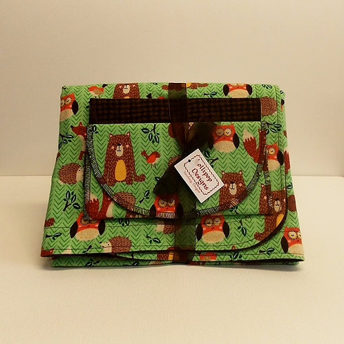 Forest Animals Blanket Set