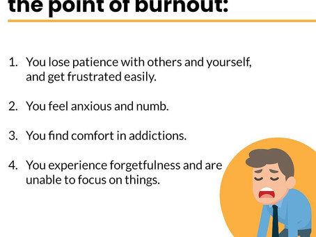 Burnouts: How to Identify and Deal with them.