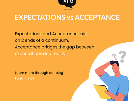 Expectations vs Acceptance