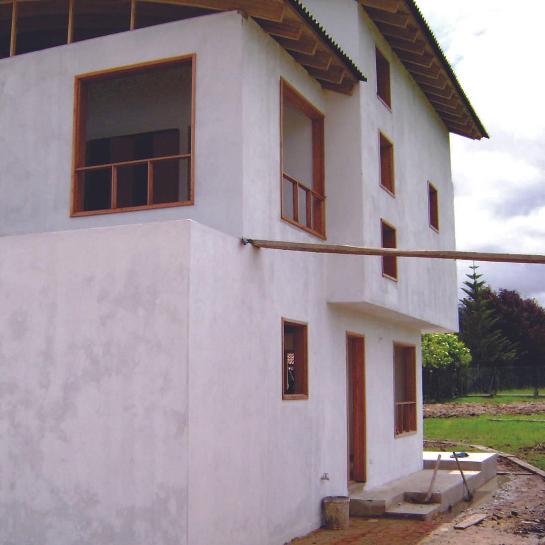 Casa Ecológica: Tabio, Cundinamarca, Colombia (en construcción)