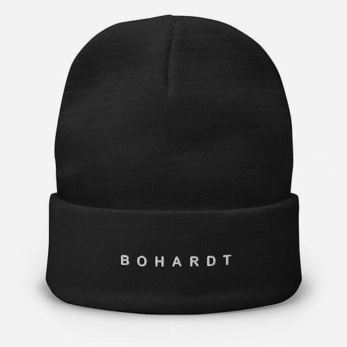 Bohardt Embroidered Beanie
