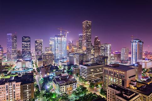 Houston, Texas, USA downtown city skylin