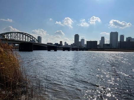 【ハレオフィス新大阪】淀川まで走ります?