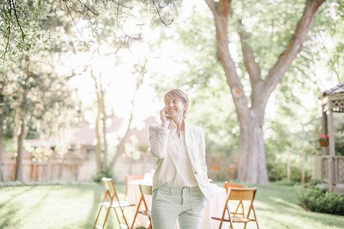WEDDING PLANNER / Forfait 1h30 de conseils et aide àl'organisation