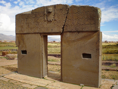 """A MILLENNIAL CULTURE IN BOLIVIA """"TIWANAKU"""""""