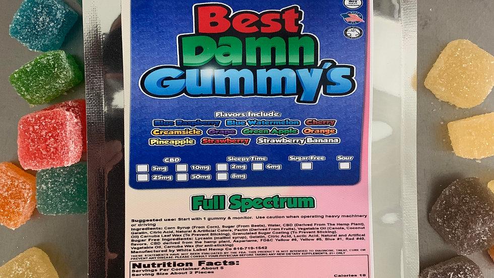 250 mg's Full Spectrum Gummies