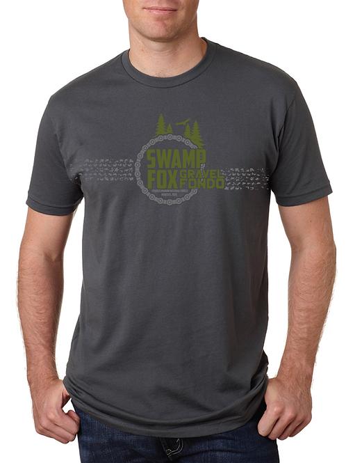 2019 Swamp Fox Gravel Fondo Event T-Shirt