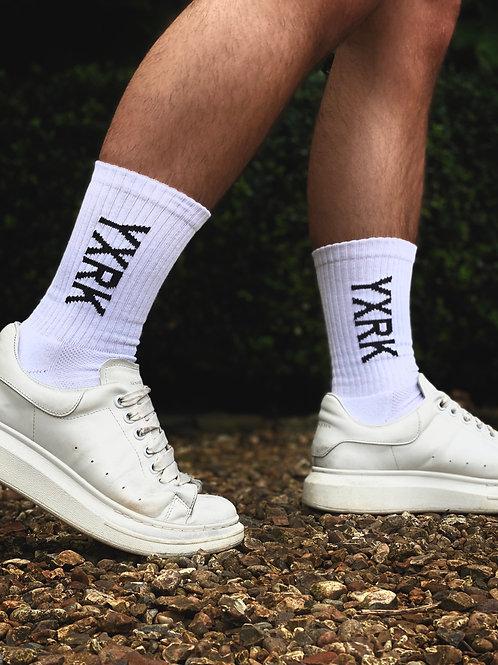 White YXRK Socks