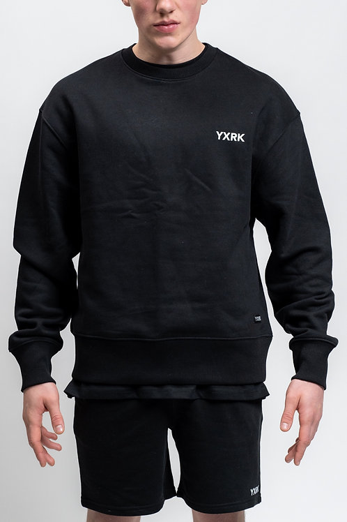 ESSENTIALS SWEATSHIRT BLACK