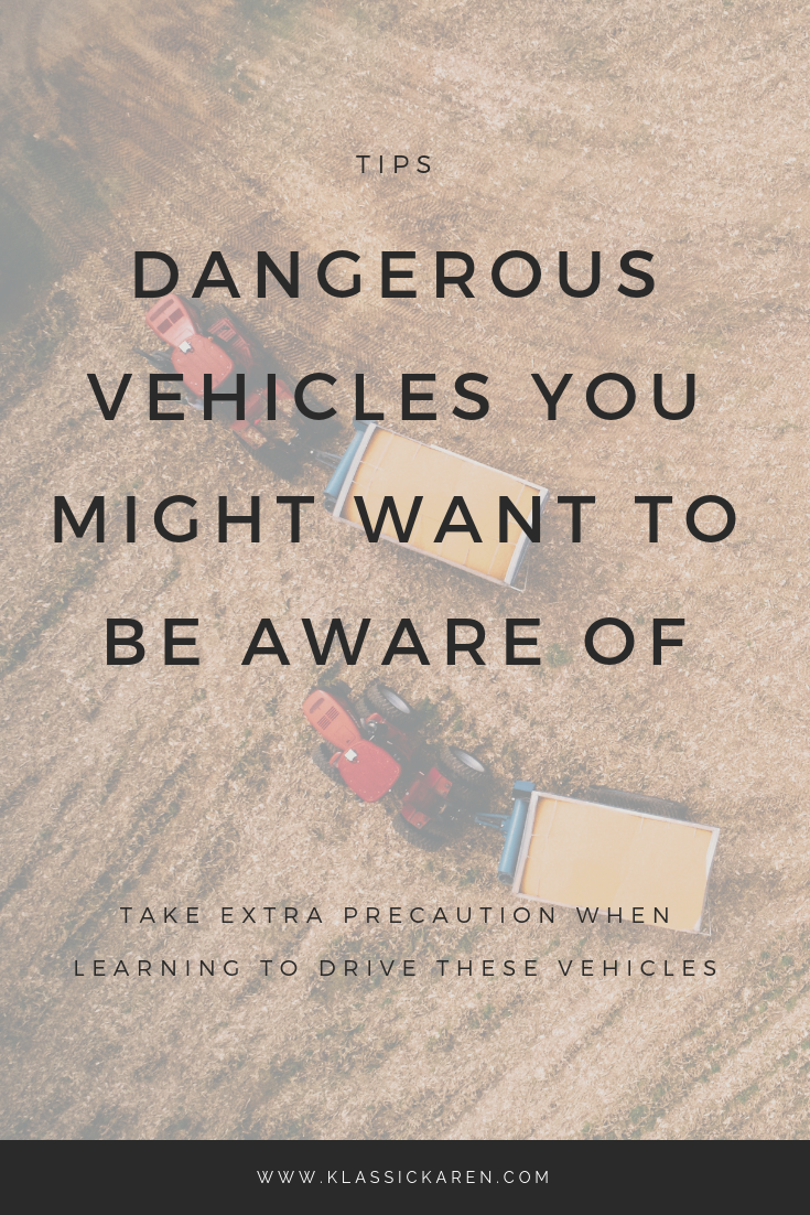 Klassic Karen on dangerous vehicles you might want to be aware of