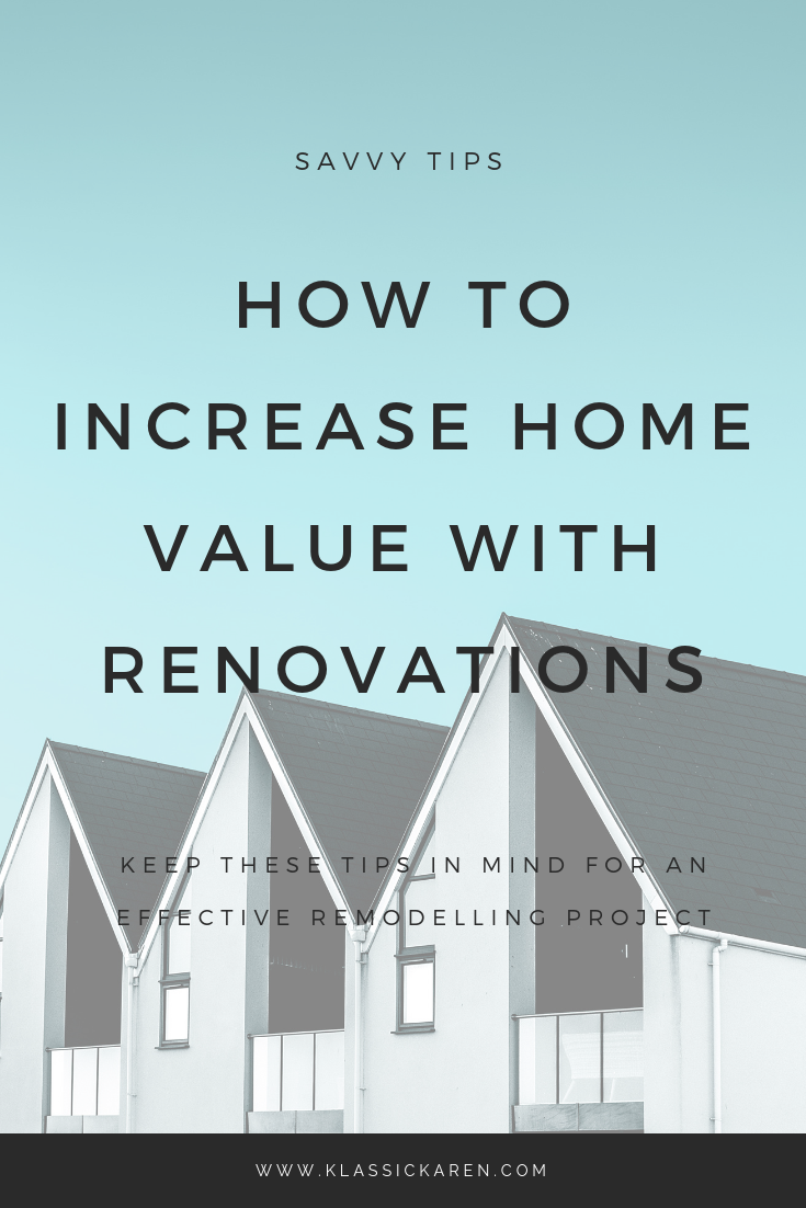 Klassic Karen on increasing home value with simple renovations