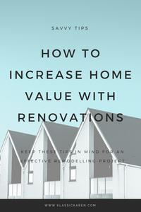 Klassic Karen on increasing home value with simple renovations