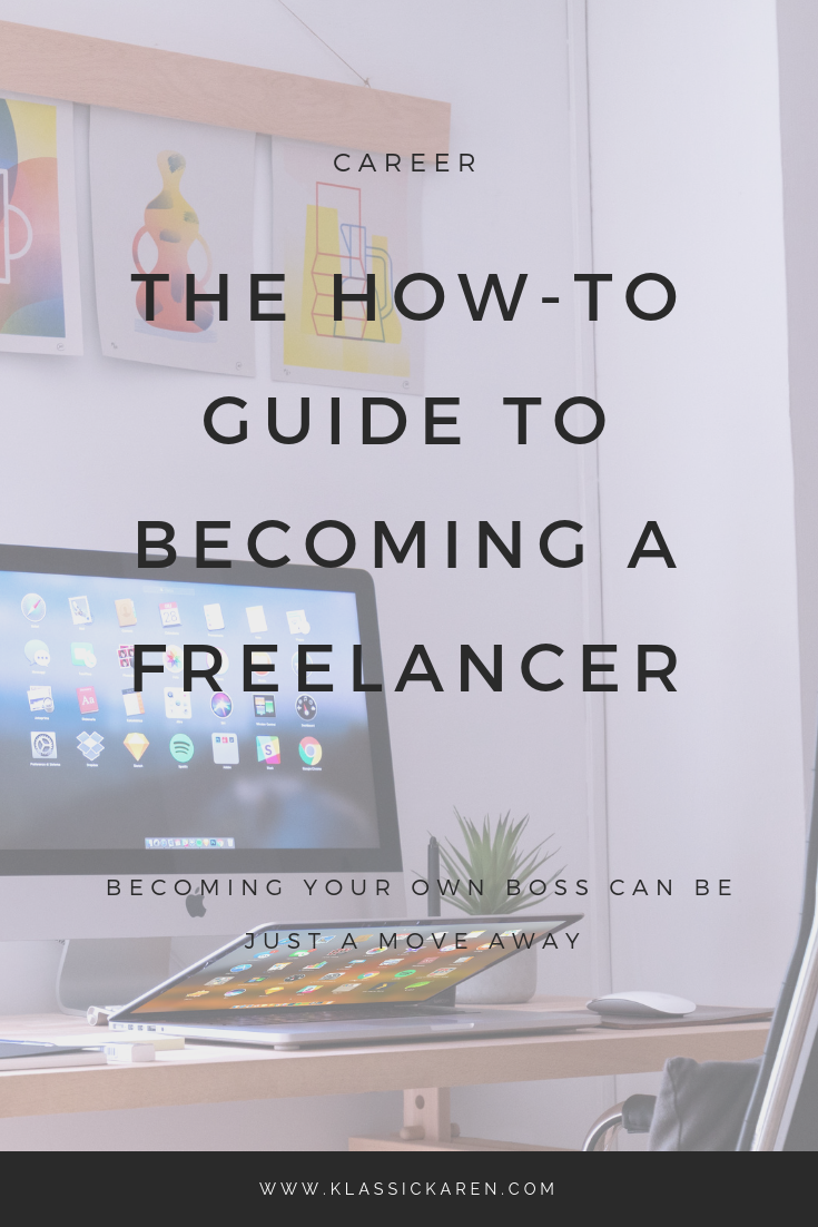 The how to guide to becoming a freelancer
