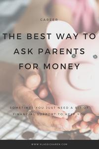 Klassic Karen on asking money from parents