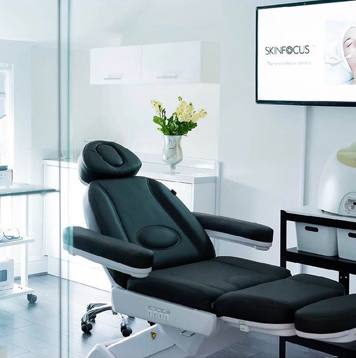 An image of the SkinFocus Aesthetic's therapy room