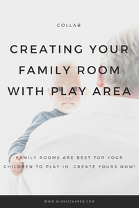 Klassic Karen on how to create your family playroom