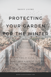 Klassic Karen Protecting your garden for the winter