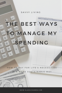 The Best Ways To Manage My Spending