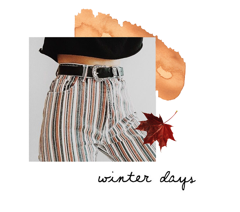 Klassic Karen on favourite winter trousers, fourth on the list are a pair of striped jeans