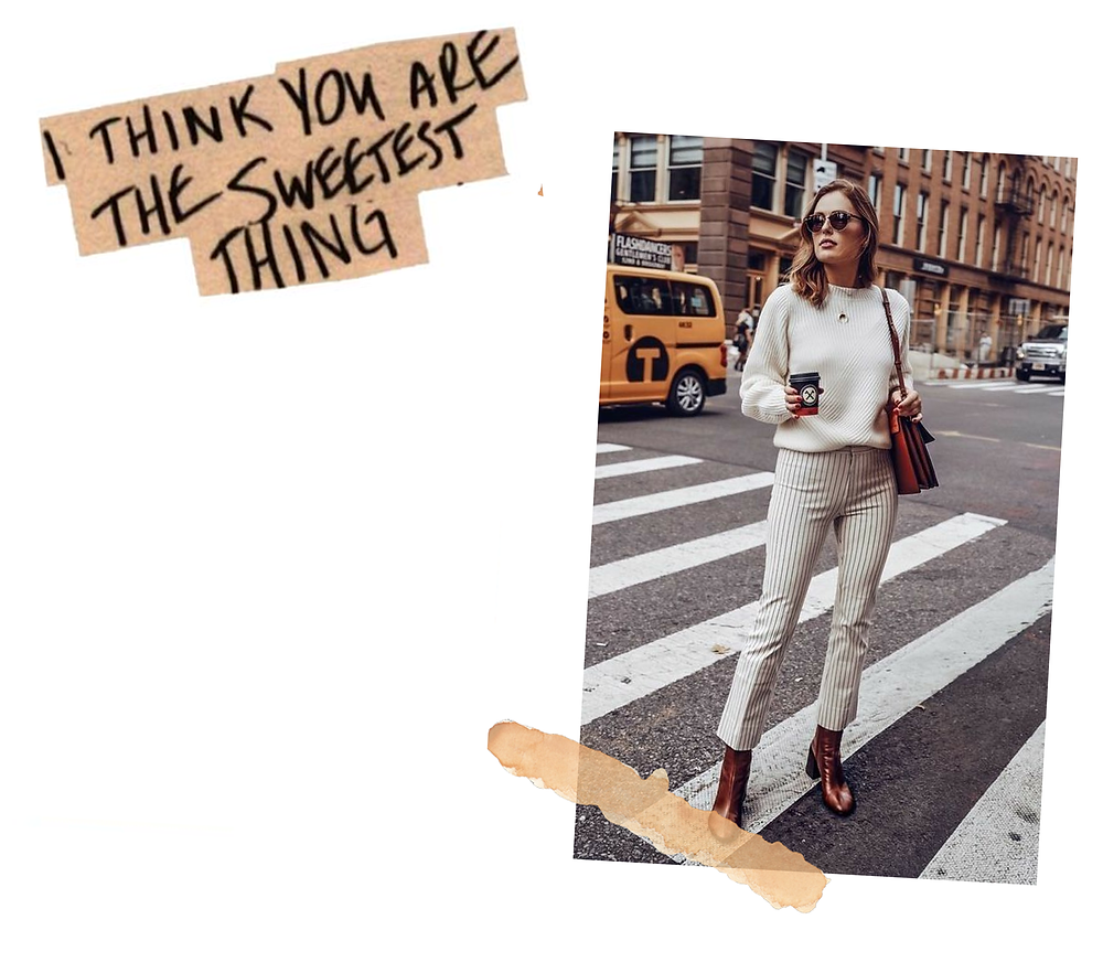 Klassic Karen on favourite winter trousers, second on the list are a pair of striped trousers