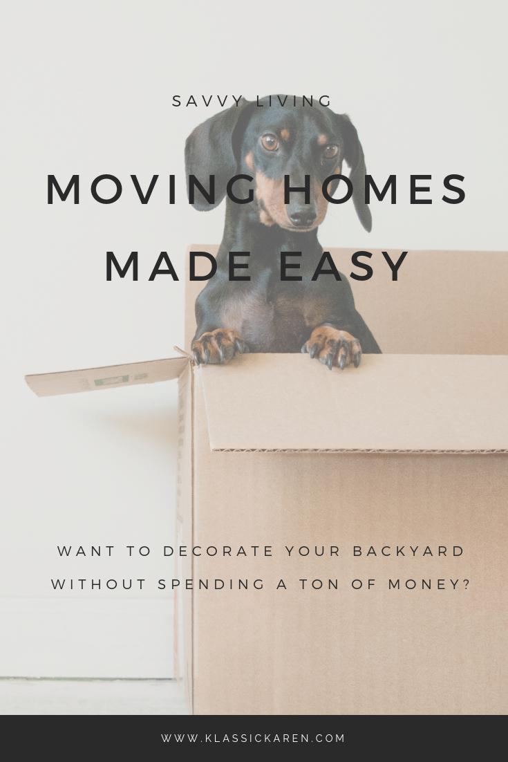 Klassic Karen tips for moving homes
