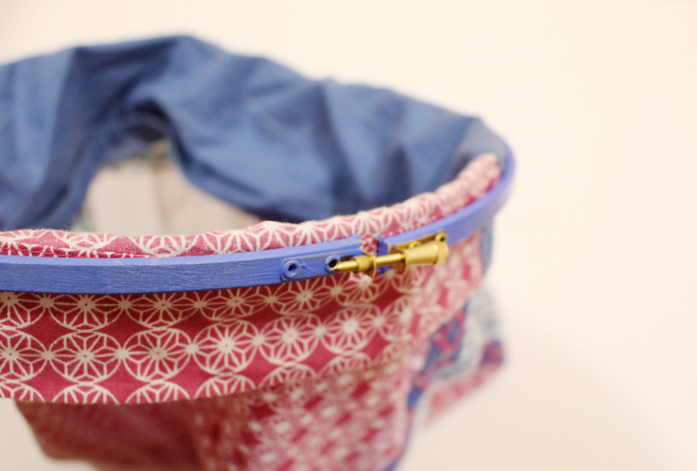 Klassic Karen tightening embroidery hoop for DIY laundry bag