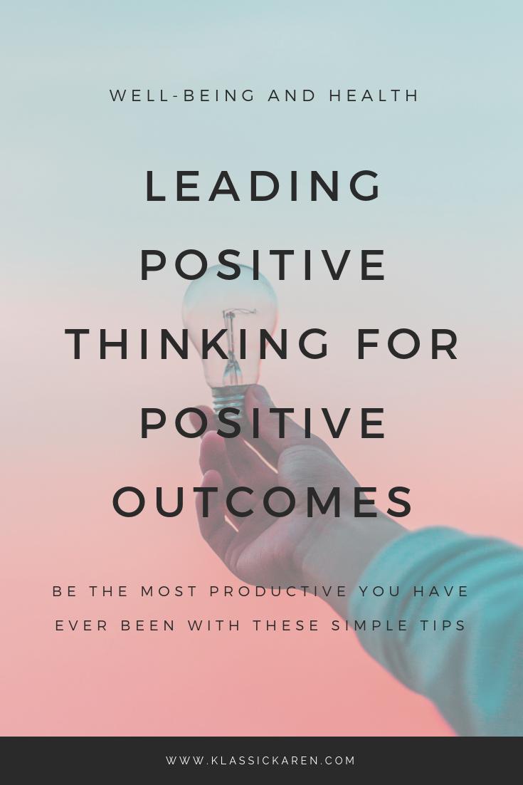 Klassic Karen on positive living