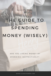 Klassic Karen Guide to spending money wisely