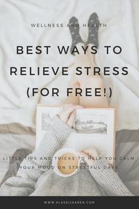 Klassic Karen on ways to relieve stress